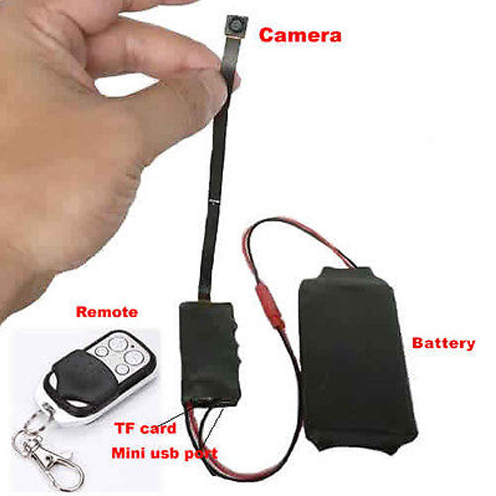 Hd 1080p Diy Module Spy Hidden Camera Video Mini Dv Dvr