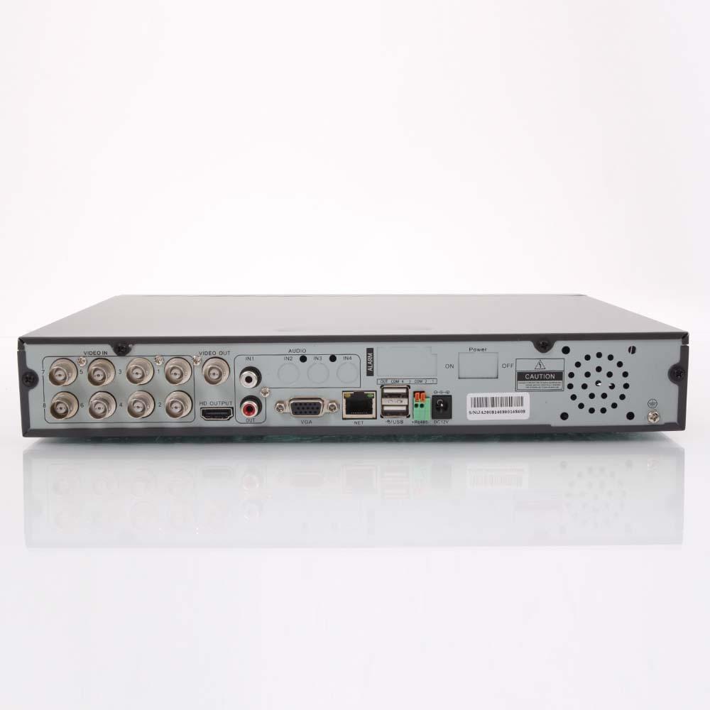 8CH Channel Full D1 H.264 Surveillance HDMI DVR Network ...