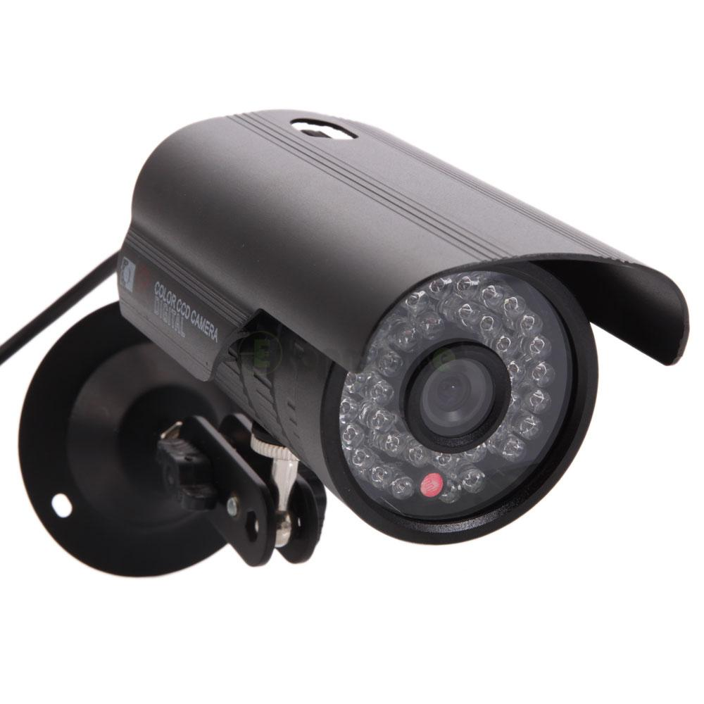 1200tvl hd color outdoor cctv surveillance security camera 36ir day night video ebay - Exterior surveillance cameras for home ...