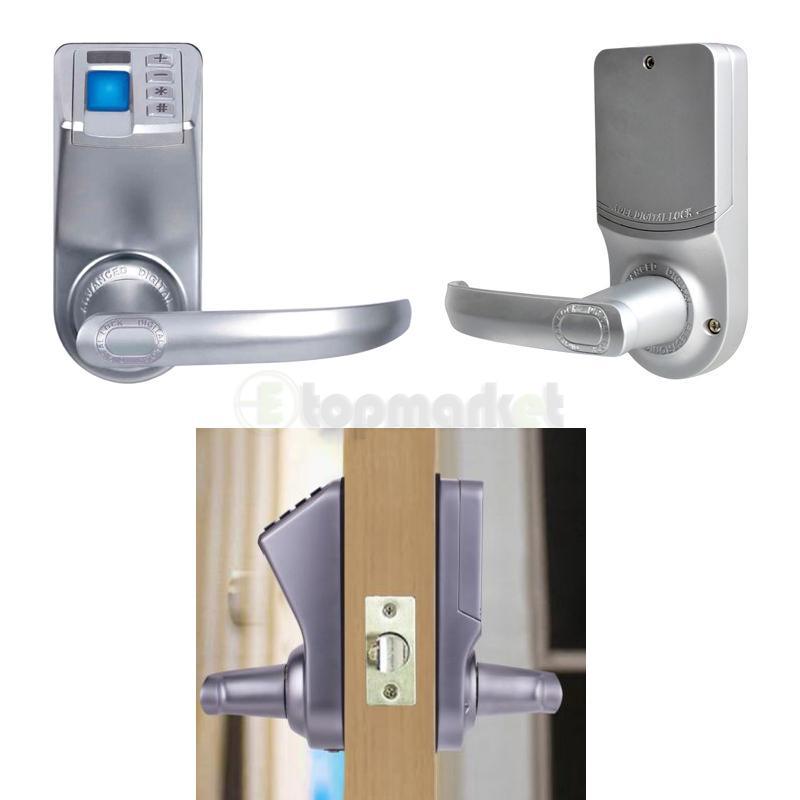 Adel Electronic Diy Biometric Fingerprint Keyless Password