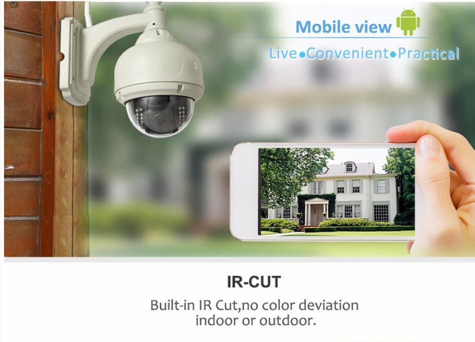 Details about Sricam Wireless Outdoor Pan/Tilt CCTV Camera P2P Wifi IP  Webcam IR Night VIsion