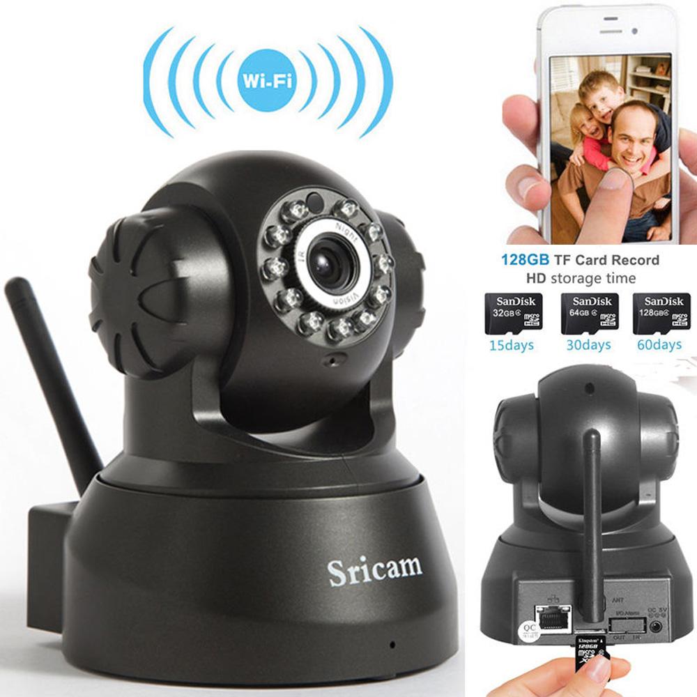 Sricam 720P HD Wireless WiFi IP Camera Pan/Tilt Security P2P Network Webcam New   eBay