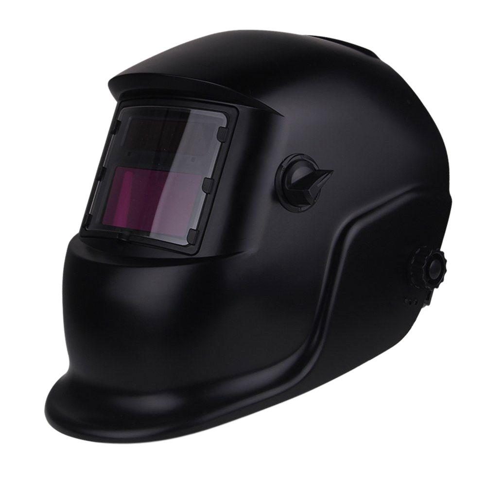 New Pro Solar Powered Auto Darkening Welding Helmet