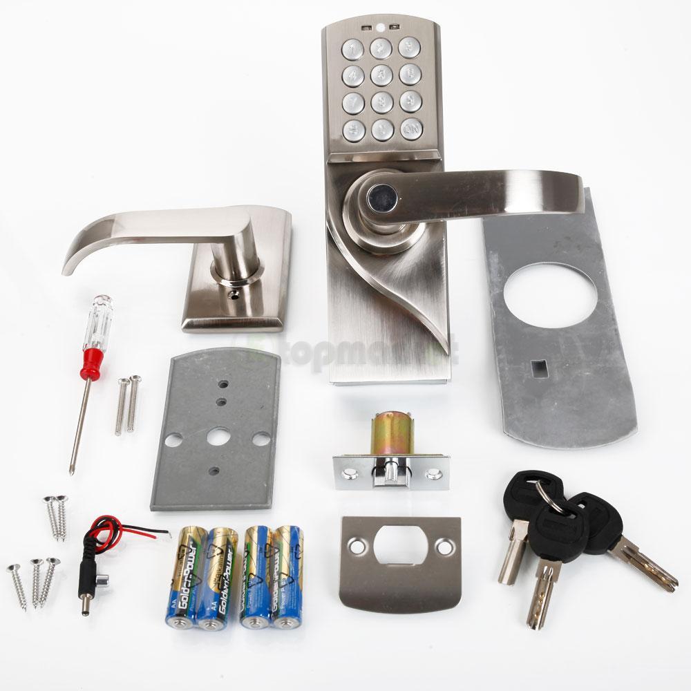 Ospon Os008c Digital Touchscreen Code Door Lock: Right/Left Handle Digital Electronic/Code Keyless Keypad
