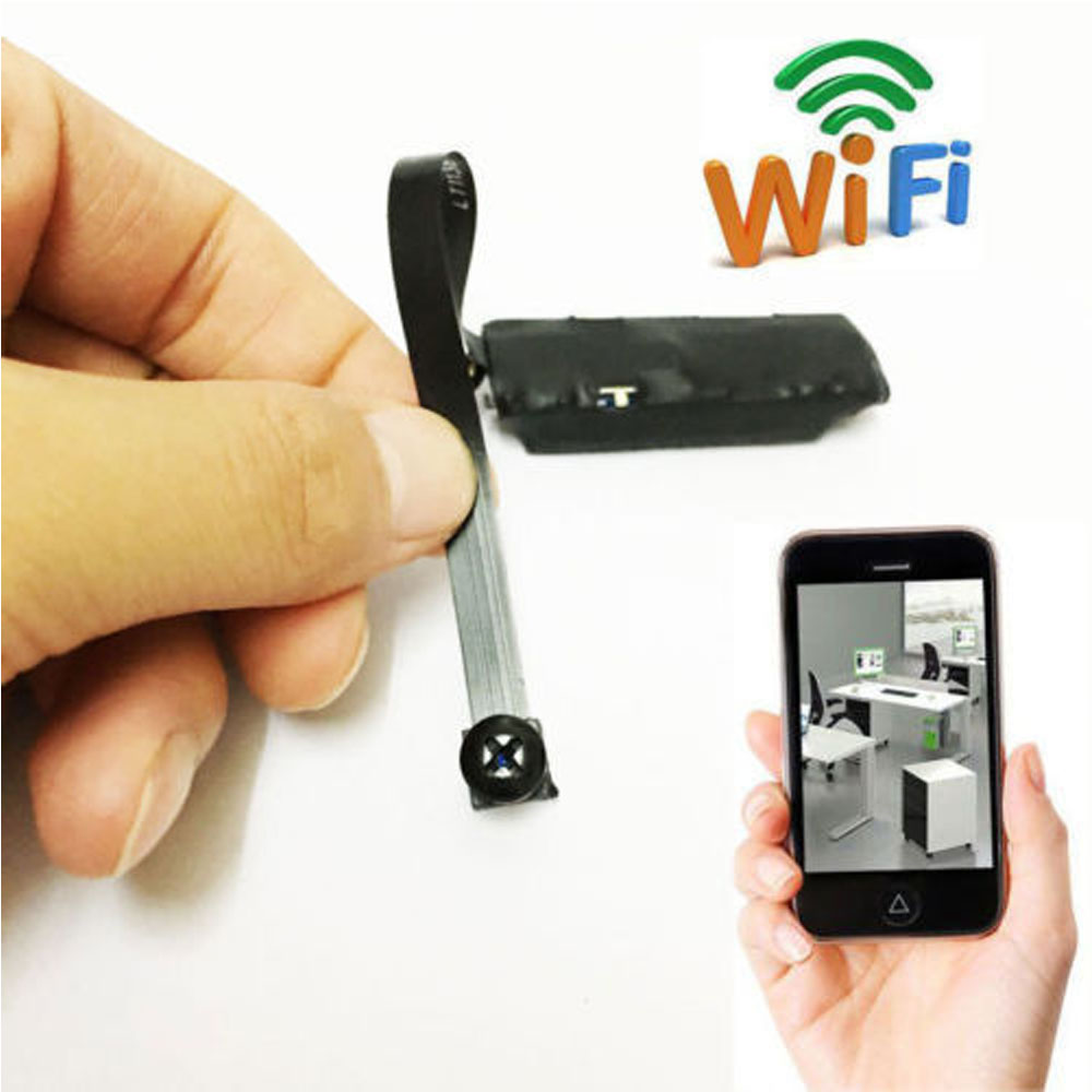 Spy Nanny Cam Wireless Wifi Ip Pinhole Diy Digital Video