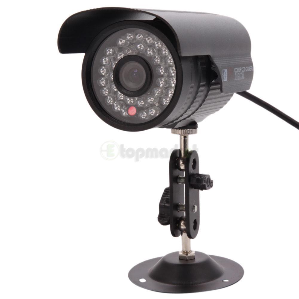 1200tvl hd color outdoor cctv surveillance security camera 36ir day night video ebay. Black Bedroom Furniture Sets. Home Design Ideas