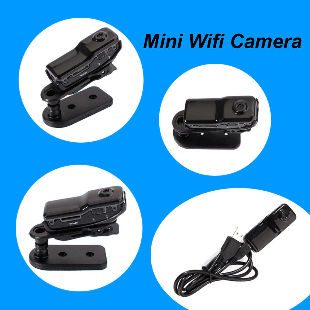 Wireless indoor outdoor hidden wifi ip camera mini dvr for Microcamera wifi per iphone e android