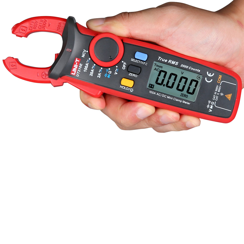 Mini Clamp Meters : Uni t ut e digital clamp meter multimeter handheld rms