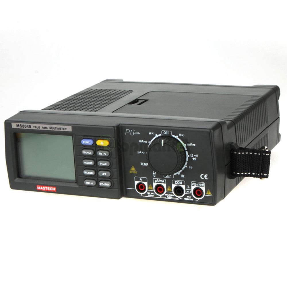 Bench Dmm: MASTECH MS8040 Digital Auto Ranging Multimeter Desktop AC