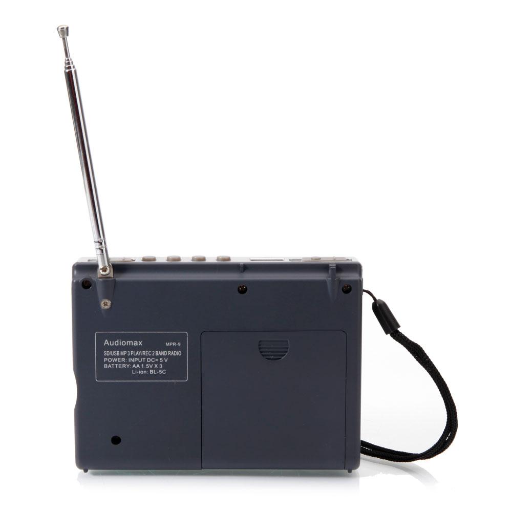 mpr 9 6 portable digital receiver am fm radio band. Black Bedroom Furniture Sets. Home Design Ideas