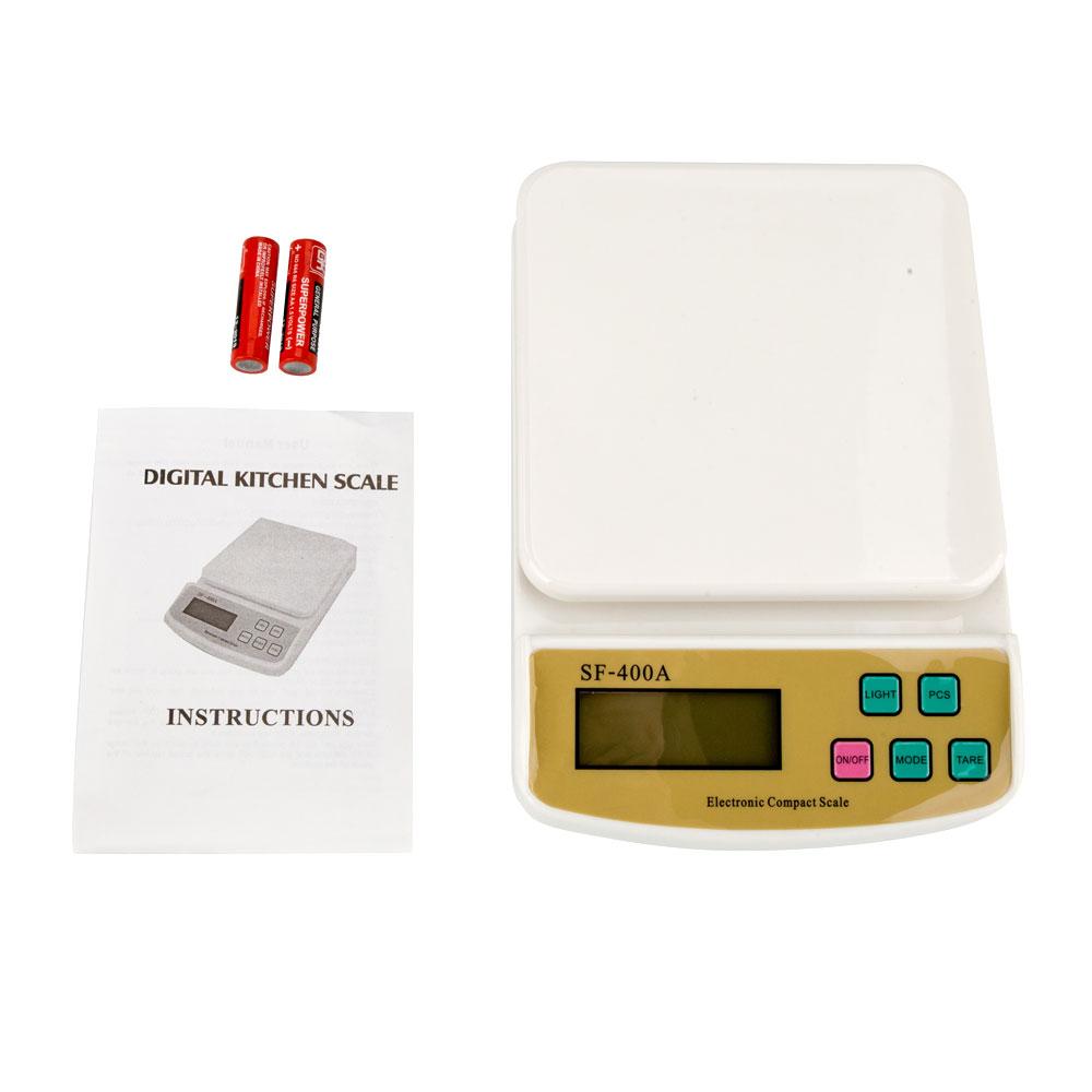 10kg/1g 22lb Digital Kitchen Food Scale Weight Balance Keep on Diet