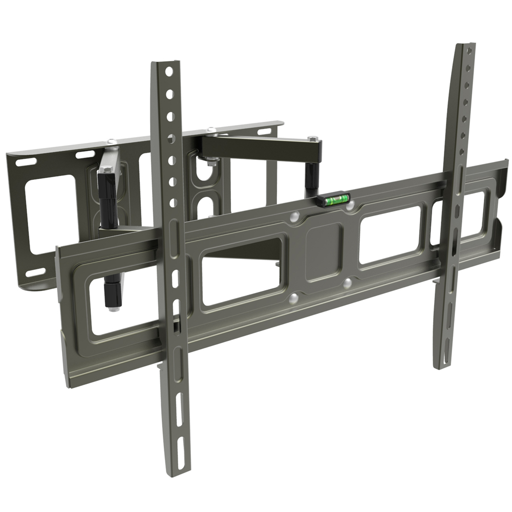 full motion lcd led plasma flat tv wall mount bracket 32 37 42 52 60 65 ebay. Black Bedroom Furniture Sets. Home Design Ideas