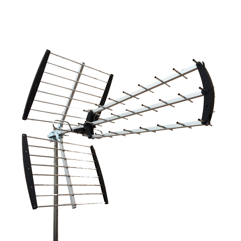 180 mile hdtv outdoor amplified hd tv antenna digital uhf for Hdtv antenna template