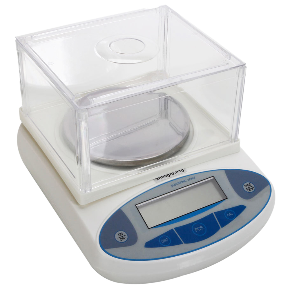 2000g/0.01g Accurate Digital Balance Laboratory Counting