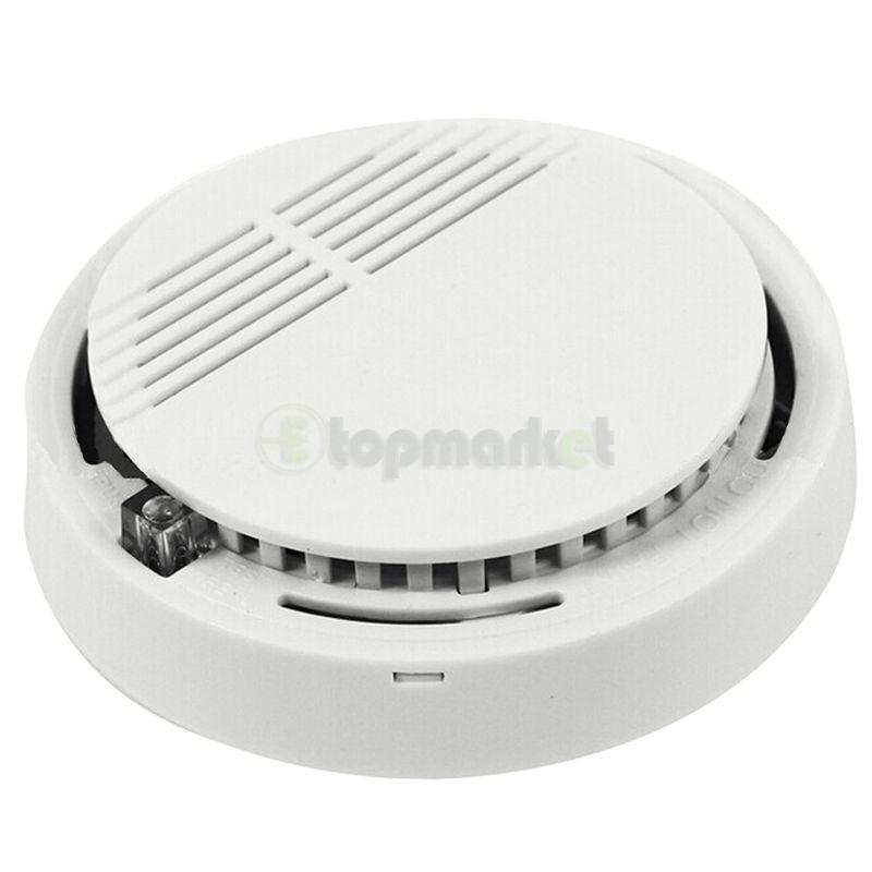 security fire alarm wireless smoke detector cordless new home sensor system us ebay. Black Bedroom Furniture Sets. Home Design Ideas