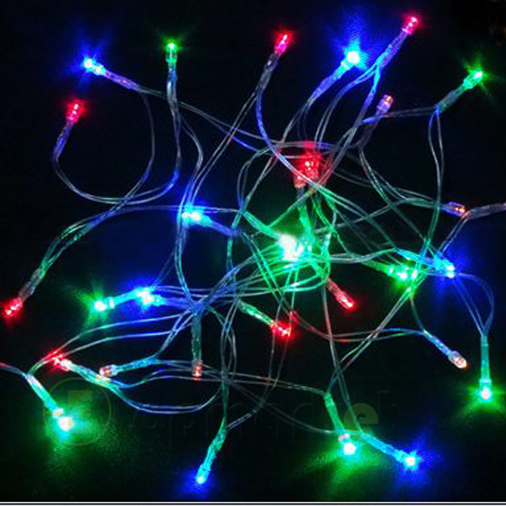 Led Outdoor Party String Lights: Ultra Bright 4M 40pcs LED String Light Xmas Fairy Party