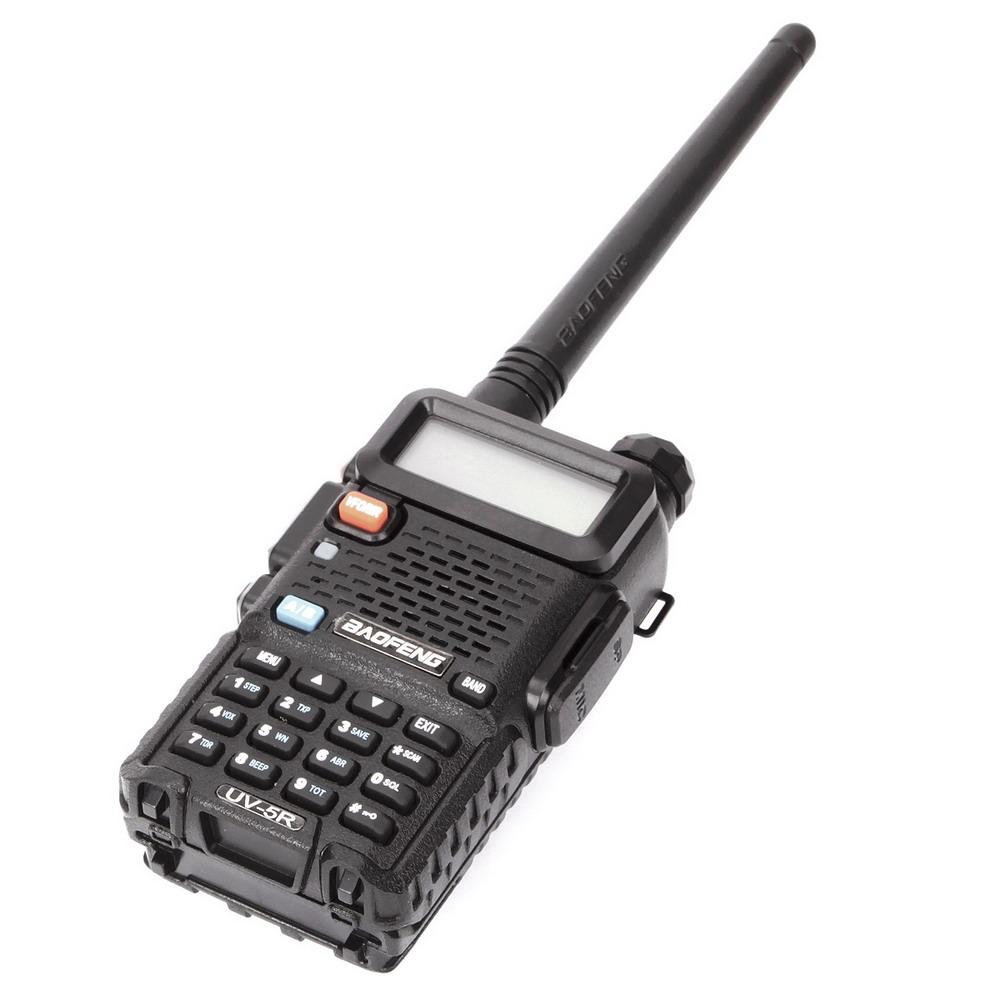 Baofeng Uv 5r Vhf Uhf Dual Band Two Way Ham Radio