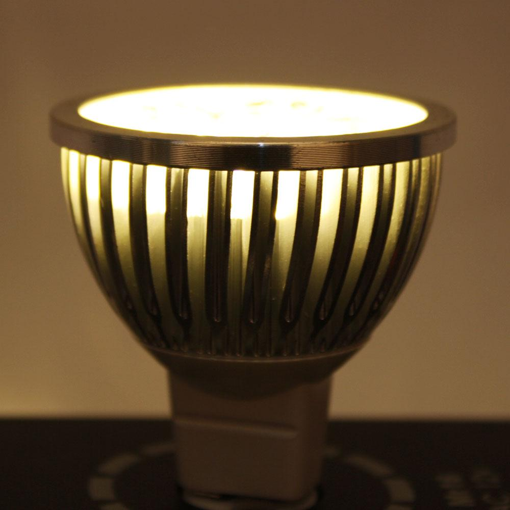 Led Spotlight Warm White: LOT10 LED Spotlight Bulb Lamp MR16 4W 12V 3000K Warm White