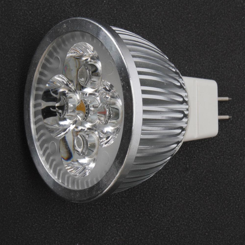 10x New Led Spotlight Bulb Lamp Mr16 4w 12v 3000k Warm White Light Energy Saving Ebay
