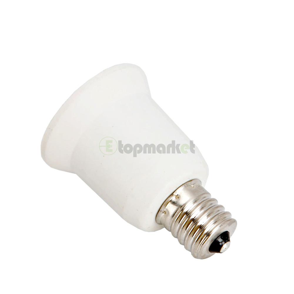 5x best e17 to e26 lamp bulb socket adapter converter screw base hot new ebay. Black Bedroom Furniture Sets. Home Design Ideas